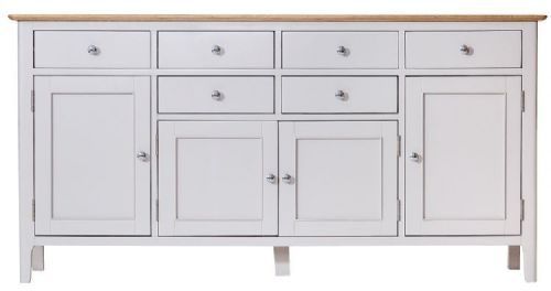 Belmont Painted 4 Door Sideboard